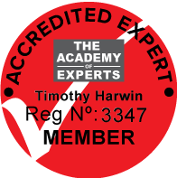 Tim Harwin AoE membership seal